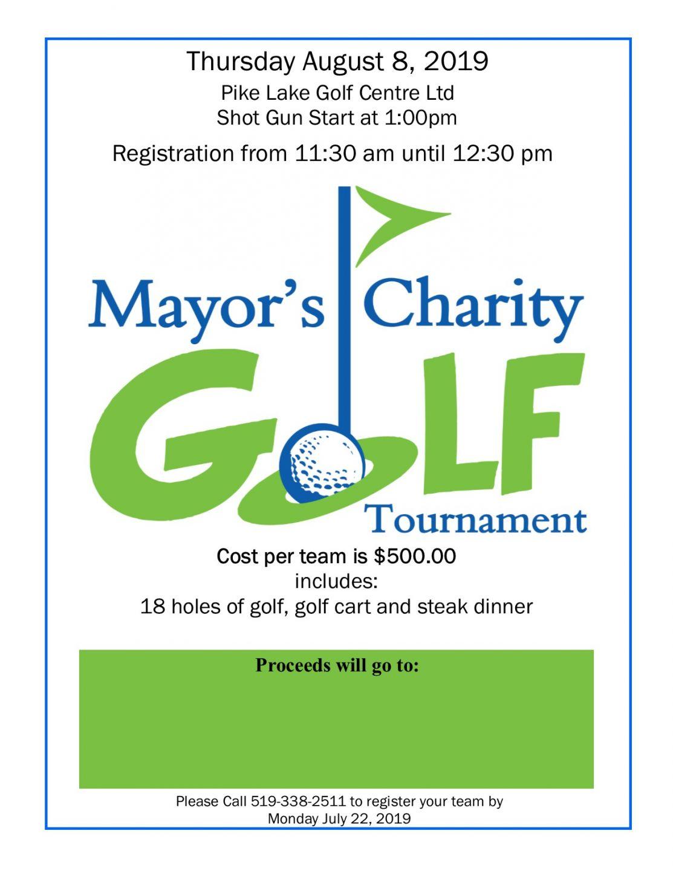 Golf Tournament Poster 2019