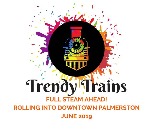 Trendy Trains: Palmerston Public Art Project - The Town of Minto